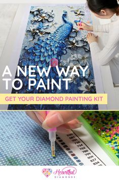 Best Diamond Painting Kits - New Designs for Adults and Kids Hobbies And Crafts, Arts And Crafts, Paper Crafts, Dot Painting, Stone Painting, Funny Faces Pictures, Crafts Beautiful, Miniature Crafts, Classroom Inspiration