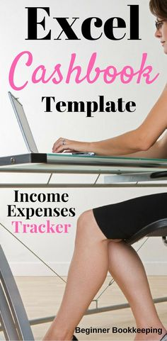 Excel cashbook template - income and expenses tracker for your small business.