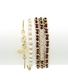 Sweet Edge Bracelet Set $18.00 #armparty #armswag #armcandy