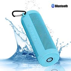 Bluetooth Speakers , FULiYEAR Portable Outdoor Speaker with Flashlight,TF Card,FM Radio,Waterproof Speaker Built in Rechargeable Battery with Mic Handsfree for iPhone Samsung Smartphone Speakers Bureau, Built In Speakers, Waterproof Speaker, Outdoor Speakers, Bluetooth Speakers, Flashlight, Ipod, Smartphone, Accessories