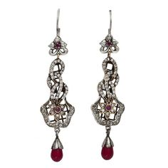 Theia Silver Earring Turkish .. Love this. .♡