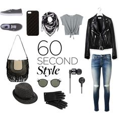ROCK IT!!! by phiveriversuk on Polyvore featuring Yves Saint Laurent, rag & bone, Vans, Alexander McQueen, Mulberry, The Case Factory, Ray-Ban, Nixon, 60secondstyle and lipsyncbattle