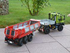Dump trailer modified for my Unimogs | von Pat-Ard