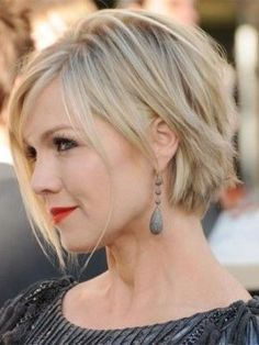awesome Suitable Short Hairstyles For Round Faces