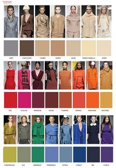 2012 Fall/Winter Color Wall