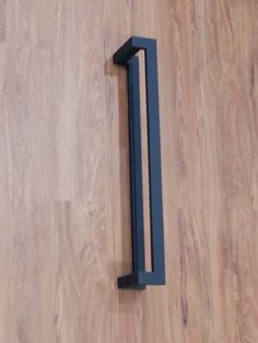 Matte Black back to back offset pull handles (pair). Ideal for entry doors, offices and the like Pull handle size: height = width = depth = projection = offset = Gate Handles, Front Door Handles, Best Front Doors, Black Front Doors, Pivot Doors, Entry Doors, Matte Black Door Handles, Diy Door Knobs, Barn Door Cabinet