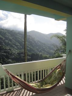 Casa Cubuy in the Puerto Rican rainforest of El Yunque.  Ecotourism at it's best. http://www.casacubuy.com/