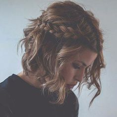 Bridesmaid Hair Style for Short Hair