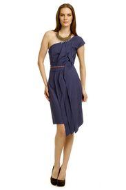 Kenya Ruffle Dress