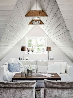 The classic beauty of Scandinavia lies within its home decorum. This 19th century style farmhouse attic home offers a rustic feel with a modern input. There are several interior designs...