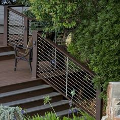 Fully Composite Timbertech Deck With Legacy Decking In