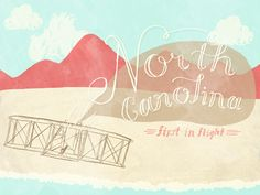Where we take all our flights of fancy: mountains, ocean, and plenty of in between. North Carolina - dribbble