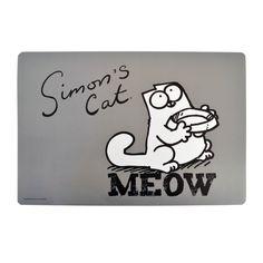 gattosa tovaglietta o sotto ciotola di Simon's Cat www.gattosi.com