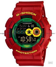 Rasta G-Shock