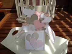breti68 - Kreativ mit Papier: Hochzeitskarte mit Hindernissen