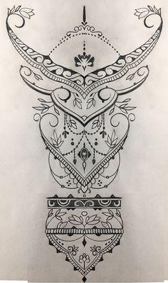 17 trendy ideas for geometric tattoo back mandalas Colorful Mandala Tattoo, Geometric Tattoo Back, Geometric Tattoo Design, Mandala Tattoo Design, Tattoo Designs, Geometric Sleeve, Tattoo Femeninos, Unalome Tattoo, Tattoo Drawings
