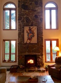 """Rodeo Wild"" Fine Art Giclée in its new beautiful New Hampshire home"