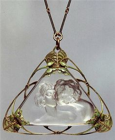 Art Nouveau jewellery by French designer, Rene Lalique
