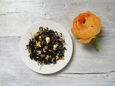 Ginger Peach Black Tea by ArtfulTea - 3.5 oz bag of luxury loose leaf tea $10.00