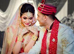 "Photo from Gautam Bailey's Photography World ""Portfolio"" album Lehenga Wedding, Lehenga Saree, Wedding Couples, Wedding Portraits, Bride Groom, Real Weddings, Photoshoot, Indian, Wedding Dresses"