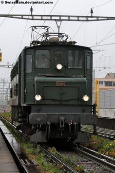 SBB Ae 4-7 No.10997 by SwissTrain on DeviantArt