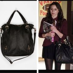Deena & Ozzy Tote Handbag This is the exact bag that was on Spencer Hastings…