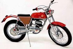 Montesa Trial 250 1967 Vintage Motocross, Vintage Motorcycles, Cars And Motorcycles, Push Bikes, Dirt Bikes, Motos Trial, Trial Bike, Bike Trails, Trials