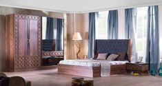 Doğrucan Mobilyanın Ege bölgesinden başlayıp Türkiye ye ve ordanda bütün dünyaya tanınma ve satış projesinin en büyük mimarlarından olan yatak odalarında 2018 yılı itibari ile başlattığı göze hitap eden modern tasarımların başında gelenDoğrucan Mobilya Alden Yatak Odası takımı tarzıyla ve görünümü ile bizden tam not alan nadide bir model. Doğrucan Mobilya Alden Yatak Odası ceviz ve mavi tonlarının eskitme tarzında görünümün modern aksesuar ve malzemelerle yoğrulmasından meydana gelmiş bir…
