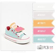 Color Crush 4.17.2013 - Soft, Vintage Baby Palette