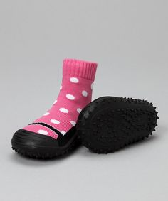 These are so smart! Gripper shoes :)