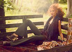 Brazilian redhead model Cintia Dicker