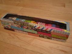 DIY washi tape organizer (Video Tutorial) - by Shopping Diva,