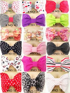 Must have!!! ----  http://www.etsy.com/listing/153831216/set-of-3-bow-bandeau-bikini-top-choose