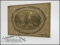 Stampin' Up! Inspired by Nature Crafty Cupcakes Team Blog Hop