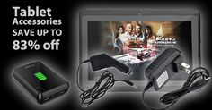 Totally Tablets! Accessories & More:    Up to 83% off      Please use my personal invitation to access the savings.  Thank you!  http://nomorerack.com?cr=4896043