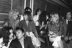 Rod Stewart, Alana Stewart, Tina Turner, Cher and Valerie Perrine at Studio 54