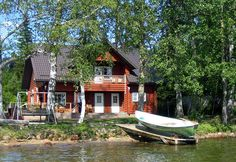 Does not need to be in Finland, but would love on the water with a boat!
