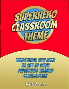 superhero decorations for classroom - Google Search