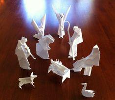 Presepe fai da te con gli origami (Foto 18/40) | NanoPress Donna