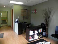 Reception Desk & Merchandise Display/Storage