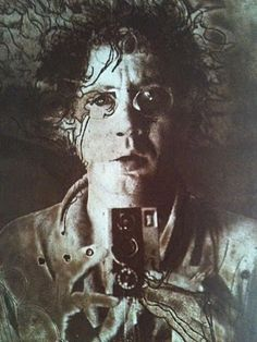 Horst Hanssen self portrait
