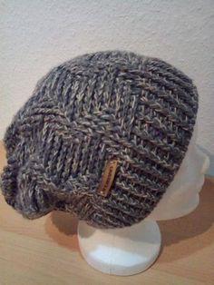 Herabhängende Mütze Mit Zick Zack Muster Alle Gr Einfach Häkeln
