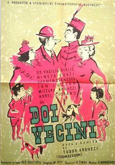 Doi Vecini / 1958 Studio, Movies, Movie Posters, Films, Film Poster, Studios, Cinema, Movie, Film