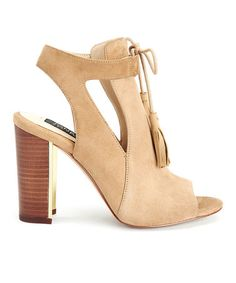 Love this Camel Jemma Kid Suede Sandal on #zulily! #zulilyfinds