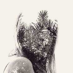 © Cristoffer Relander  Ottobre, ogni numero sul foglio del calendario a te dedicato significa qualcosa: un compleanno, un avvenimento, un ricordo, una persona. Sei il mese in cui anche l'aria ha un colore preciso nella mia testa ed è una combinazione di foglie di autunno e corteccia, pagine nuove dei libri di scuola, caffè del mattino e castagne sul fuoco.  #cristofferrelander #doubleexposure #photography