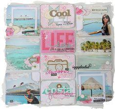 Les pages Project Life de Novembre, la 1ère partie - Scrappadingue - Le scrap d Elodie Touzet iggydodie