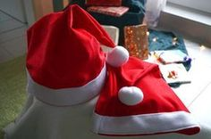 Weihnachtsmützen nähen