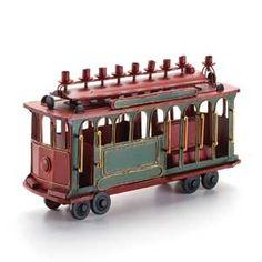#Hanukkah Selections: Cable Car Menorah | $80