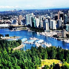 Beautiful Vancouver BC!  Big city...feels like several small towns!!  LOVE!!!