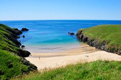 Porth Iago and its secluded bay is just a short drive up the coast from Ty Halen, Wales, UK Wales Uk, North Wales, Places To See, Places Ive Been, Cornish Coast, Aberystwyth, Colourful Buildings, Uk Europe, Camping Places